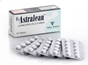 Clenbuterol HCL Astralean 60mcg